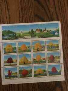 Stamps 1994 Canada Day block