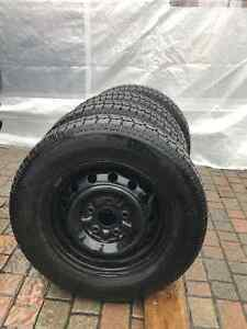 4*195/70R14 - Winter Tires + Rims with GOOD CONDITION! West Island Greater Montréal image 5