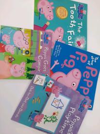 Peppa Pig books x 4