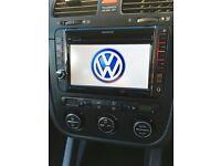 Kenwood Double Din Radio, DVD, MP3 Aux, Garmin satnav ready VW Audi Skoda Seat