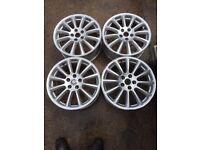 Jaguar x-type genuine Belize alloy wheels 17inch