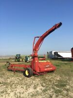 New Holland 892 silage cutter