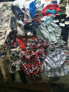 Huge brand name baby clothing lot 18 months