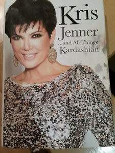 """FOR SALE – Book by Kris Jenner """"And All Things Kardashian"""""""