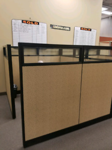 OFFICE CUBICLE STATIONS CUBICLES PARTITIONS OBO