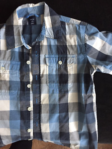 Gap boys size s (6/7) short sleeve shirt
