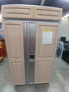 Side-By-Side SubZero Panelled Refrigerator - Mississauga ReStore