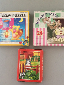 jigsaw puzzles 3 for 50cents  Great for LOOT BAG