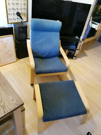 Chair and footstall