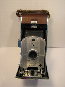 Vintage 1950s Polaroid land camera model 95 with case