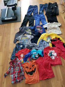 Used Lot of 22 pieces of 4T clothes