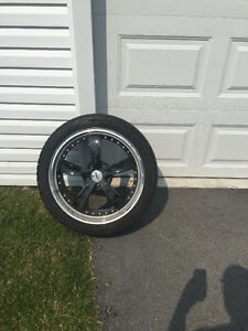 4(19'' TSW rims 5x120 bolt pattern with Cooper tires 245/40/19)