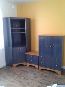 3 pieces  chambre garcons