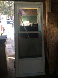 have an aluminum door forsale