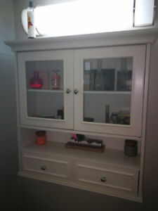 White Wall Storage Unit For Sale in St. Catharines