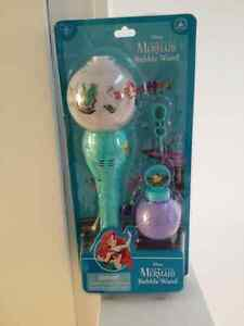 Brand New The Little Mermaid Bubble Wand