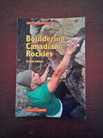 Bouldering in the Canadian Rockies guide book