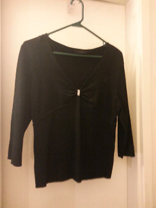 Dressy Sweater with rhinestones 3 colors to choose from