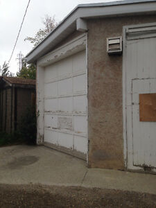 Garage for Rent!  Available July 1st