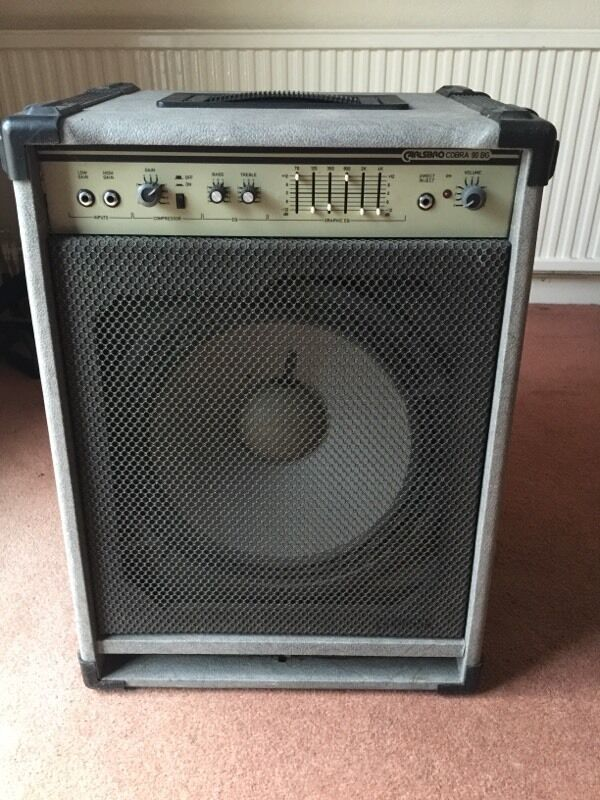 carlsbro cobra 90 bg bass guitar amp in corstorphine edinburgh gumtree. Black Bedroom Furniture Sets. Home Design Ideas