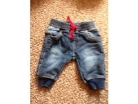Upto 1 month mothercare jeans