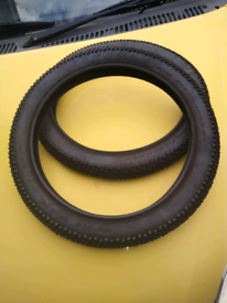 """New 16"""" bicycle tyres."""