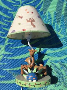 Safari theme Baby room lamp *Not in St. Albert*