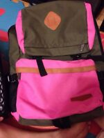 pink and green backpack for sale