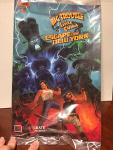 Big Trouble In Little China/Escape From New York #1 Comic Book