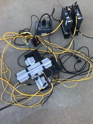 2 Parker Dedal Slides 6k4 Controller 2 Renishaw Linear Encoders 2 Tq10 Drives
