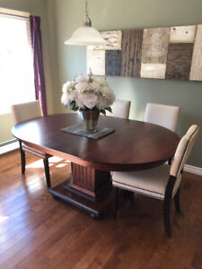 MODERN, HIGH END FURNITURE! Geddes Cherry Dining Table