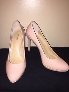 Michael Kors Nude Patent Pumps