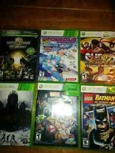 Xbox 360 games 5$ each