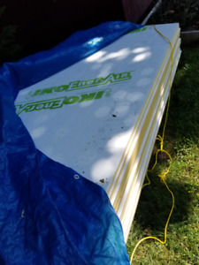 "13 sheets of 4' x 8' x 1"" IKO EnerAir Rigid Insulation"