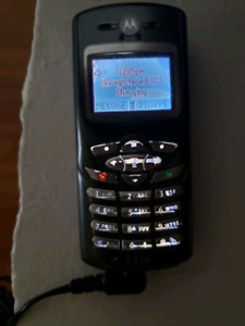Motorola C370 with charger