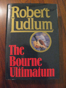 SIGNED! Bourne Ultimatum by Robert Ludlum - Hardcover