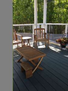 Conversation Set for Deck/Patio