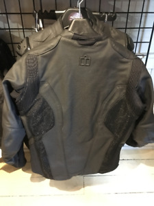 ICON LEATHER JACKETS AT HALIFAX MOTORSPORTS!!!