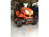 KUBOTA GR2100 MK 2 DIESEL 4 WHEEL DRIVE ride on lawnmower