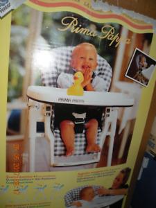 Chaise haute de bébé