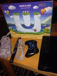 Hard copy, super smash brothers and Wii U with controller