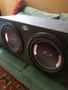 """2 10"""" Ultimate Comp. Subs In Box"""