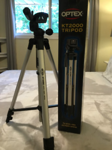 Optex KT2000 Camera and Video Tripod Perfect Condition