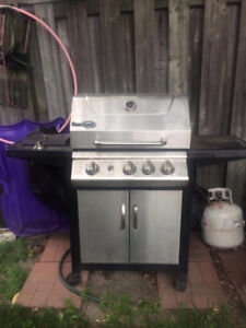 Stainless Steel Beaumark BBQ