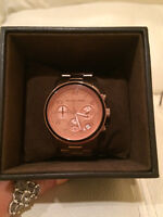 Limited Edition Rosegold Michael Kors Watch