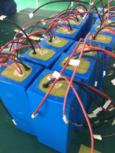 High capacity 48V20AH LiFEPO4 Lithium Battery Pack with BMS