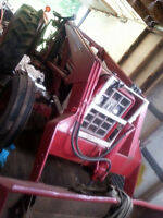 International 444 tractor with blower. 3400 or best offer.
