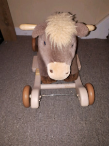 Riding horse toy