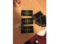 Stone island badges all for £10