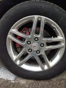 "Wanted: 2 used aluminum 17"" rims for 2006 Pontiac Grand Prix"